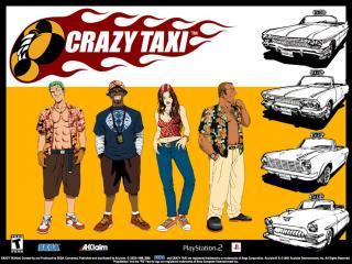 обои Crazy Taxi фото