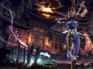 обои Soulcalibur 3 девушка воин фото