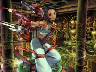 обои Девушка из Soulcalibur 3 фото
