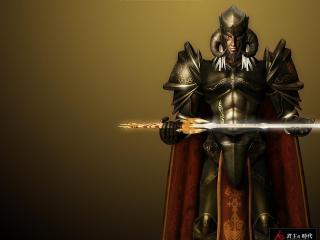 обои Держа в руках меч фото