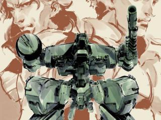 обои для рабочего стола: Metal Gear Solid