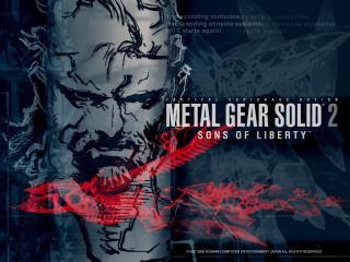 обои Metal Gear Solid 2- Sons of Liberty фото