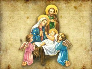 обои Рождение Христово фото