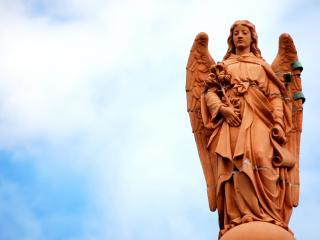 обои Ангел - хранитель фото