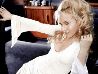 обои Hayden panettiere whitedress фото