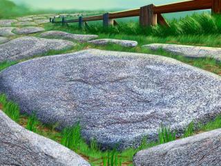 обои Каменная аллея фото