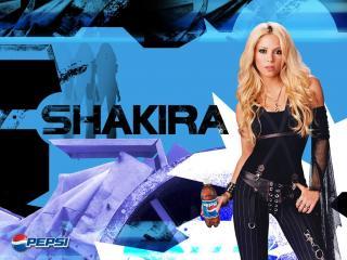 обои для рабочего стола: Music s Shakira
