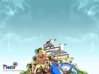 обои Fiesta Onl - корабль фото