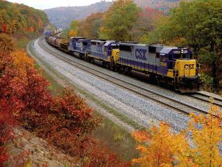 обои CSX Transportation Company фото