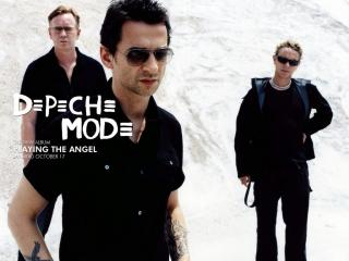 обои Depeche Mode Playing the Angel фото