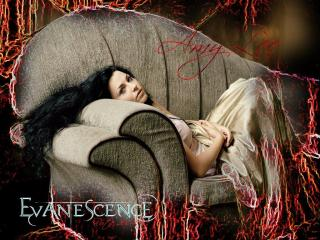 обои Evanescence (Amy Lee) фото