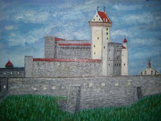 обои Картина Замок Германа фото