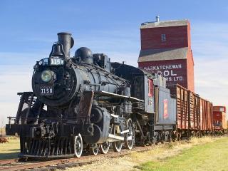 обои Музей паровозов в Канаде фото