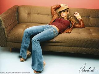 обои Певица Anastacia фото