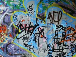 обои Стена Граффити фото