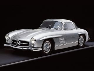 обои Gullwing Mercedes 300SL 1955 фото