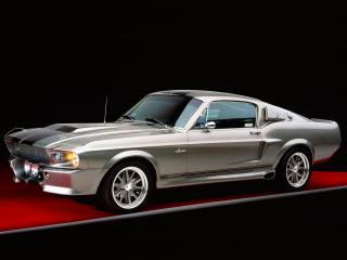 обои Ford Mustang GT 500M 1967 фото