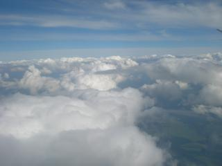 обои Облака вид из самолета фото