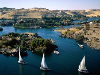 обои Река Нил в Египте фото