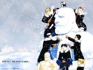 обои Fullmetal alchemist kinds men фото