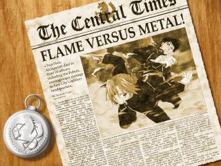 обои Fullmetal alchemist papers фото