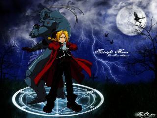 обои Fullmetal alchemist pinktogramm фото