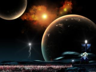 обои Fullmetal alchemist planets фото