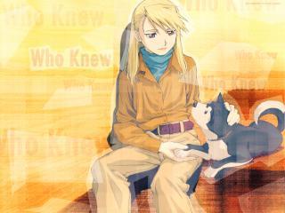 обои Fullmetal alchemist riza hawkeye фото