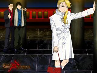 обои Fullmetal alchemist white dress фото