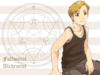 обои Fullmetal alchemist white editions фото