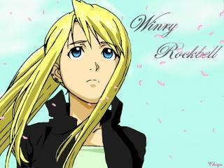 обои Fullmetal alchemist winry winry rockbell cry фото