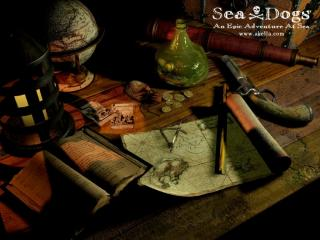 обои Sea Dogs- An Epic Adventure at Sea фото