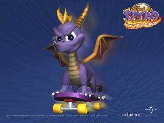 обои Spyro - Year of the Dragon фото