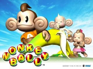 обои Super Monkey Ball фото