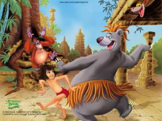 обои The Jungle Book- Groove Party фото