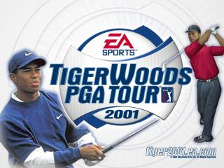 обои Tiger Woods PGA Tour 2001 фото
