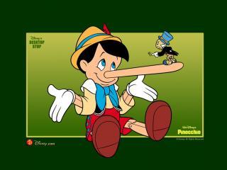 обои Пиноккио с длинным носом фото