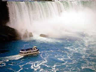 обои Тур по Ниагарскому водопаду фото
