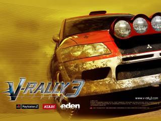 обои V-Rally 3 фото