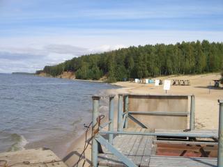 обои Пляж осенью фото
