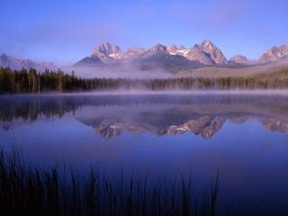 обои Утреннее озеро фото