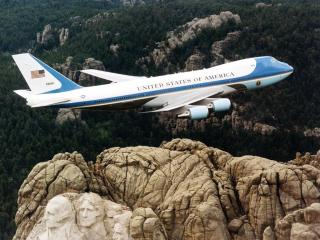обои Air Force One - Boeing-747