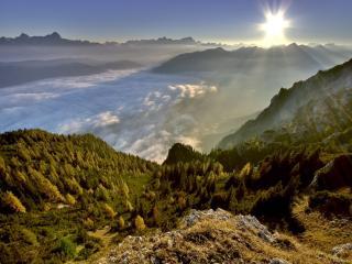 обои Пейзажи Австрии фото