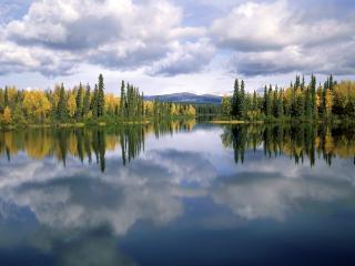 обои Озеро Дракона фото