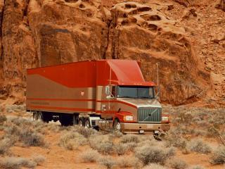 обои VOLVO пустыня Америки фото