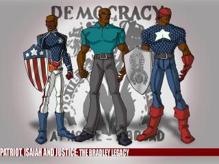 обои Democracy heroes фото