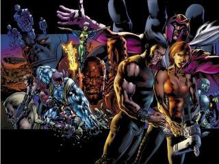 обои X-men добро и зло фото