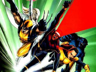 обои X-mens в бою фото