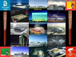 обои Олимпийские стадионы Китая фото