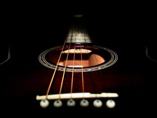 обои Интересная гитара фото
